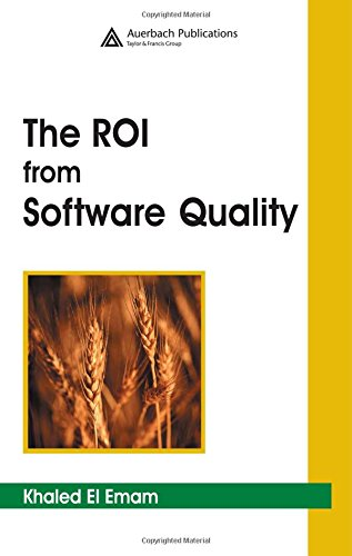 9780849332982: The ROI from Software Quality