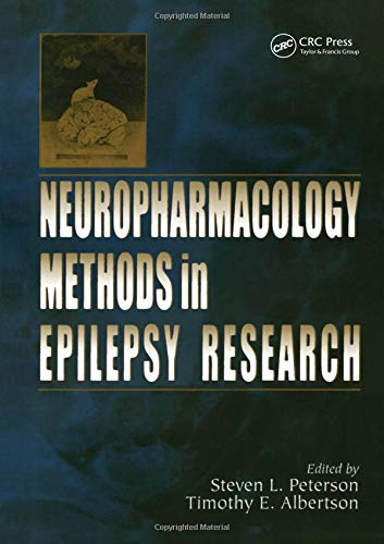 9780849333620: Neuropharmacology Methods in Epilepsy Research (Methods in Life Science - Cellular & Molecular Neuropharmacology Series)