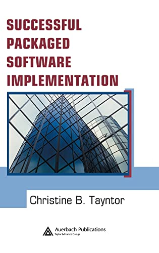 9780849334108: Successful Packaged Software Implementation