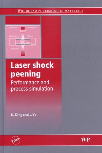 9780849334443: Laser shock peening Performance and process simulation