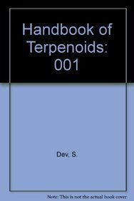 9780849336119: Handbook of Terpenoids: Triterpenoids, Volume I