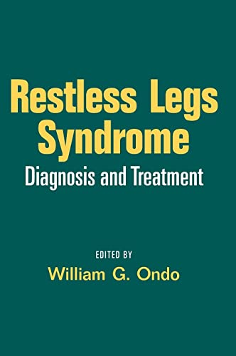 9780849336140: Restless Legs Syndrome: Diagnosis and Treatment (Neurological Disease and Therapy)