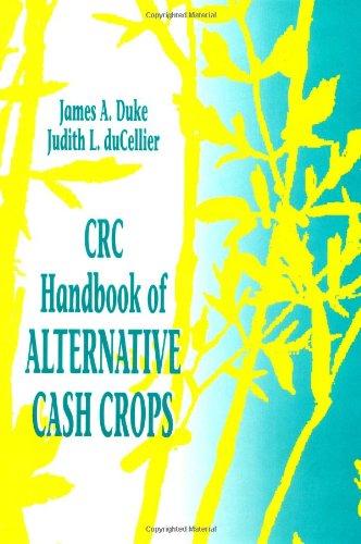 Handbook of Alternative Cash Crops (Hardback): James A. Duke, J.Du Cellier, J. Du Cellier