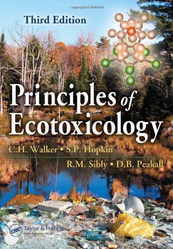 9780849336355: Principles of Ecotoxicology, Third Edition
