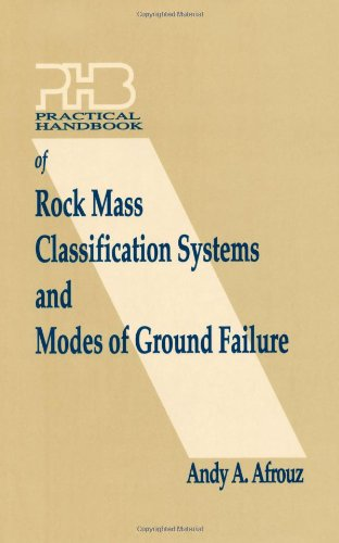 9780849337116: Practical Handbook of Rock Mass Classification Systems and Modes of Ground Failure
