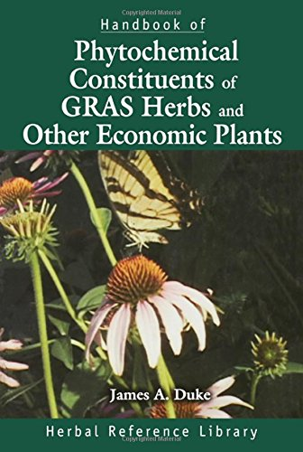9780849338656: Handbook of Phytochemical Constituents of GRAS Herbs and Other Economic Plants: Herbal Reference Library