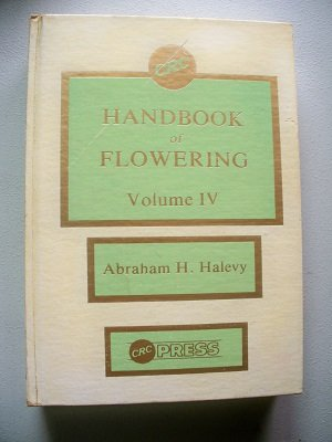 9780849339141: CRC Handbook of Flowering, Vol. 4