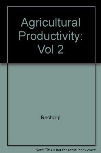 9780849339639: 2: Plant Productivity: CRC Handbook of Agricultural Productivity, Vol. 1