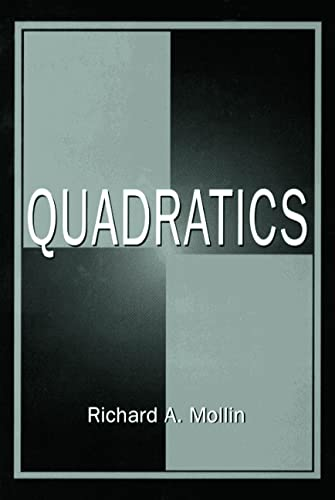 9780849339837: Quadratics (Discrete Mathematics and Its Applications)