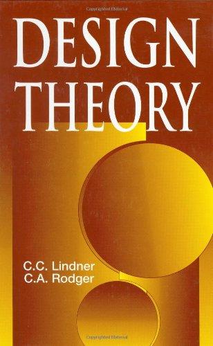 9780849339868: Design Theory (Discrete Mathematics and Its Applications)