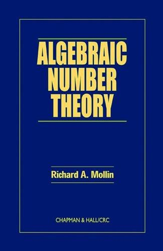 9780849339899: Algebraic Number Theory (Discrete Mathematics and Its Applications)
