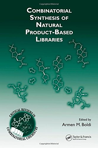 9780849340000: Combinatorial Synthesis of Natural Product-Based Libraries (Critical Reviews in Combinatorial Chemistry)