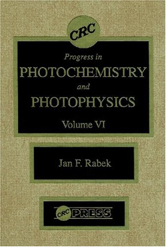 9780849340468: Progress in Photochemistry & Photophysics, Volume VI: 006