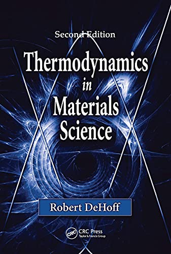 9780849340659: Thermodynamics in Materials Science