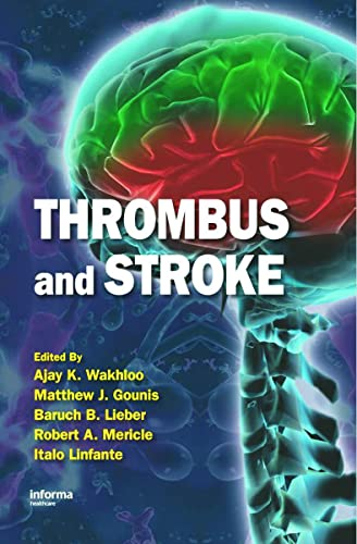 9780849341960: Thrombus and Stroke