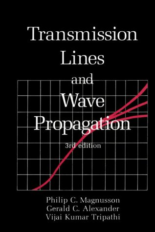 9780849342790: Transmission Lines and Wave Propagation, Third Edition