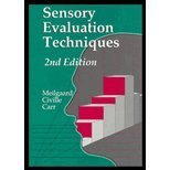 9780849342806: Sensory Evaluation Techniques