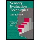 Sensory Evaluation Techniques: Second Edition: Morten C. Meilgaard;