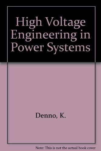 9780849342899: High Voltage Engineering in Power Systems
