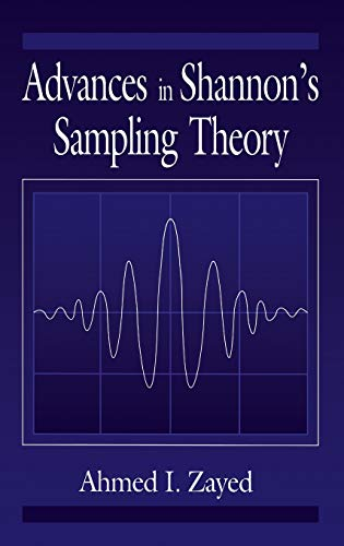 9780849342936: Advances in Shannon's Sampling Theory