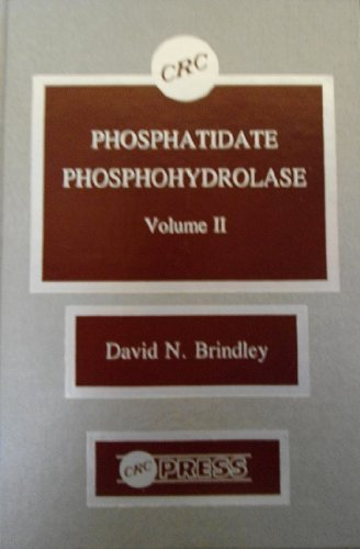 9780849343605: Phosphatidate Phosphohydrolase (CRC Series in Enzyme Biology)