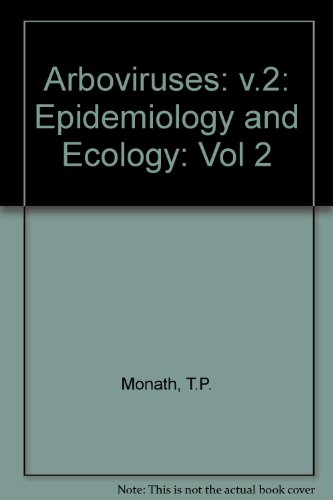9780849343865: Arboviruses Epidemiology and Ecology Volume 2
