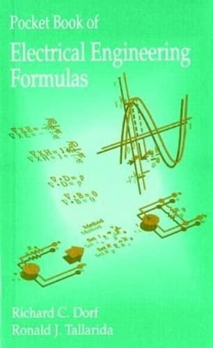 9780849344732: Pocket Book of Electrical Engineering Formulas