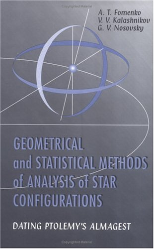 Geometrical and Statistical Methods of Analysis of: Anatoly T. Fomenko;