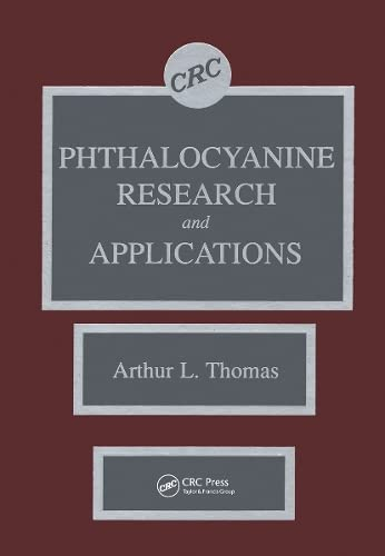 9780849346248: Phthalocyanine Research and Applications