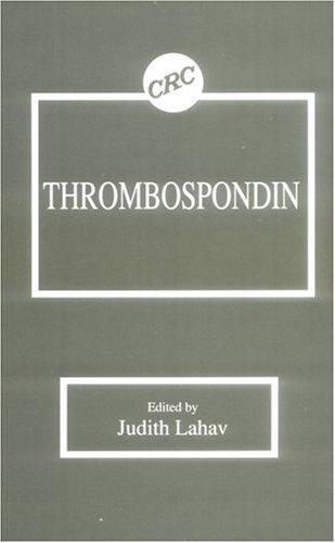 9780849349294: Thrombospondin