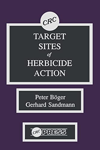 9780849349850: Target Sites of Herbicide Action