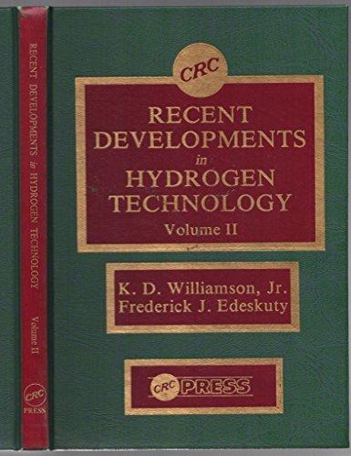 Recent Devs in Hydrogen Technology: Williamson, K. D.,