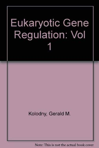9780849352256: Eukaryotic Gene Regulation