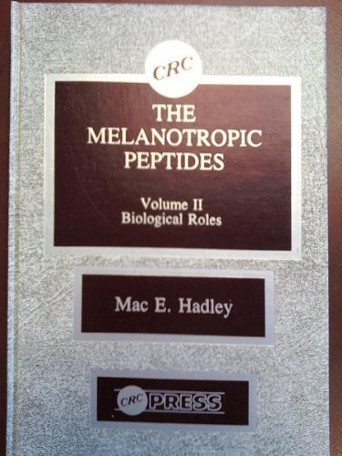 9780849352782: Melanotropic Peptides