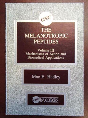 9780849352799: Melanotropic Peptides