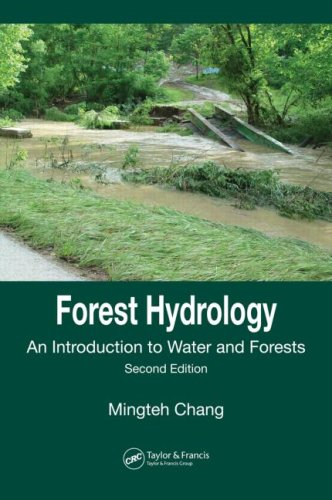 9780849353321: Forest Hydrology: An Introduction to Water and Forests, Second Edition