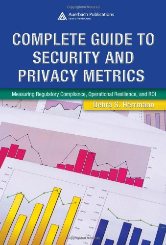 9780849354021: Complete Guide to Security and Privacy Metrics: Measuring Regulatory Compliance, Operational Resilience, and ROI