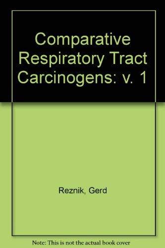 Comp Resp Tract Carcin Spontaneous Resp Tract: Schuller, Hildegard M.