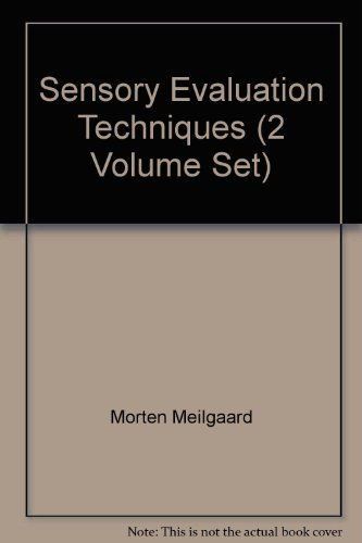 9780849354304: Sensory Evaluation Techniques (Chemical Industries Series)
