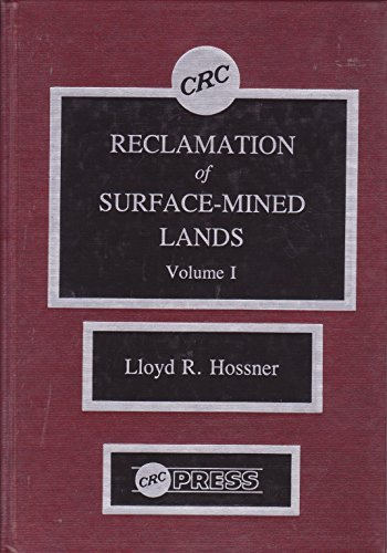 9780849357022: Reclamation of Surface-mined Lands