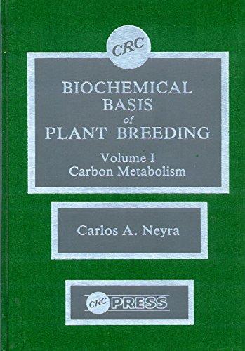 9780849357411: 001: Biochemical Basis of Plant Breeding, Volume 1: Carbon Metabolism