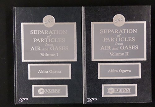 9780849357886: Separation Of Particles From Air & Gases: Vol II (Fine Particle Science & Technology)