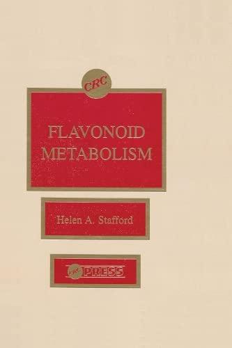 Flavonoid Metabolism (Hardback): Helen A. Stafford
