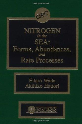 Nitrogen in the Sea: Forms, Abundance, and Rate Processes (Hardback): Etaro Wada, Akihiko Hattori