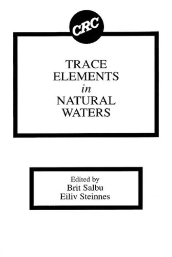9780849363047: Trace Elements in Natural Waters