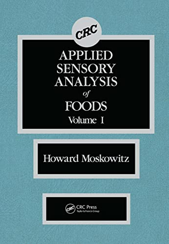 9780849367052: Applied Sensory Analysis of Foods, Vol. 1