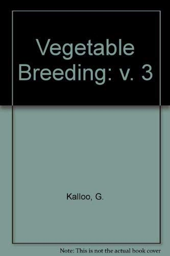 Vegetable Breeding: Kalloo