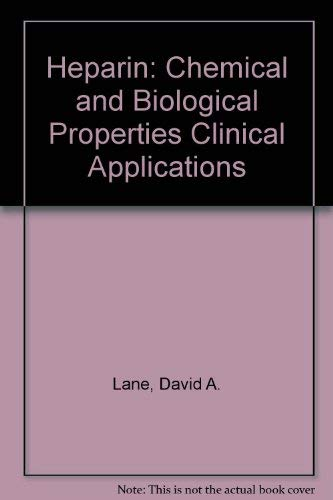 9780849371004: Heparin: Chemical and Biological Properties Clinical Applications