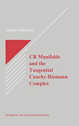 Cr Manifolds and the Tangential Cauchy-Riemann Complex: Boggess, Albert