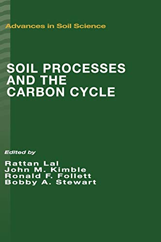 9780849374418: Soil Processes and the Carbon Cycle (Advances in Soil Science)